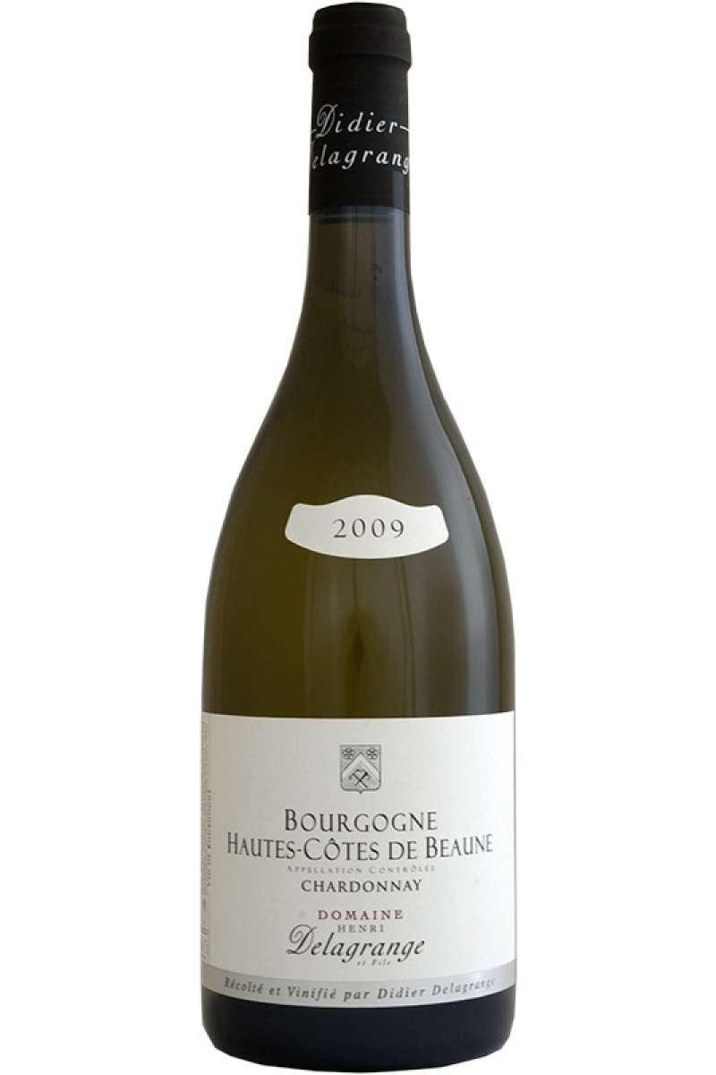 Chardonnay Hautes, Cotes de Beaune, Domaine Henri Delagrange et Fils, Bourgogne, France, 2009