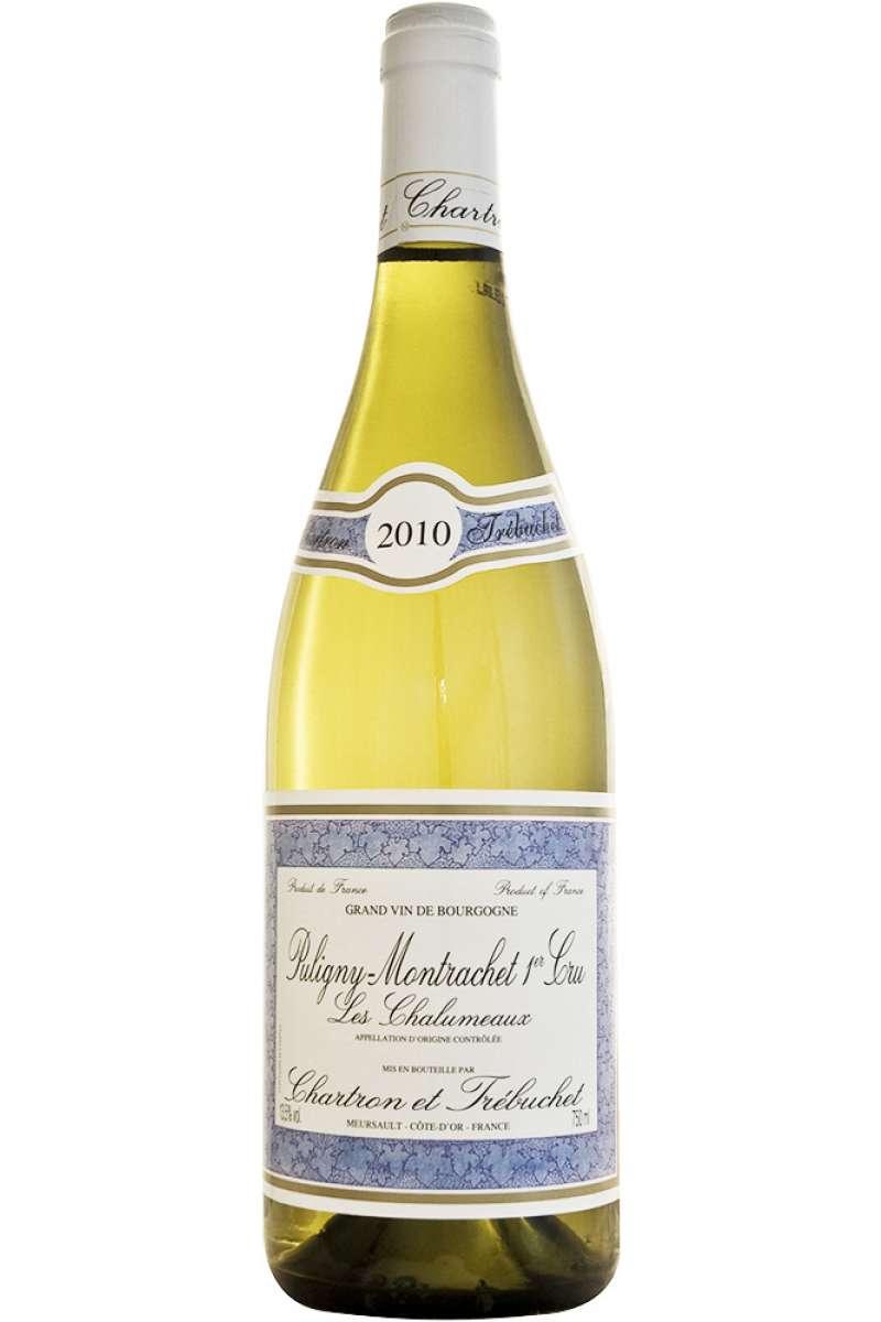 """Puligny Montrachet, 1er Cru, """"Les Chalumeaux"""", Charton et Trébuchet, Bourgogne, France, 2010"""