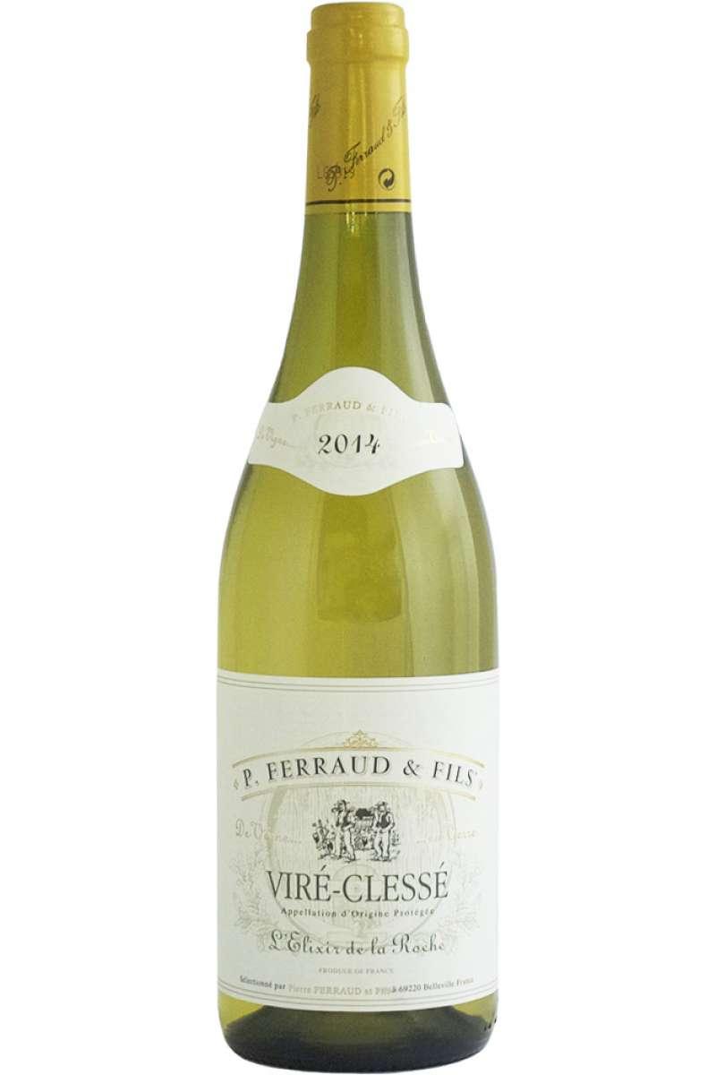 Viré-Clessé, L'Elixir de la Roche, Domaine Pierre Ferraud, Burgundy, France, 2018