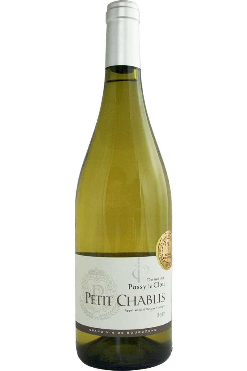 Petit Chablis, Domaine Passy le Clou, Burgundy, France, 2017