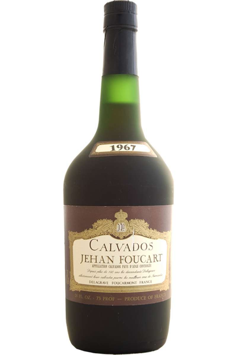 Calvados, Vintage, Jehan Foucart, Pays d'Auge, France, 1967