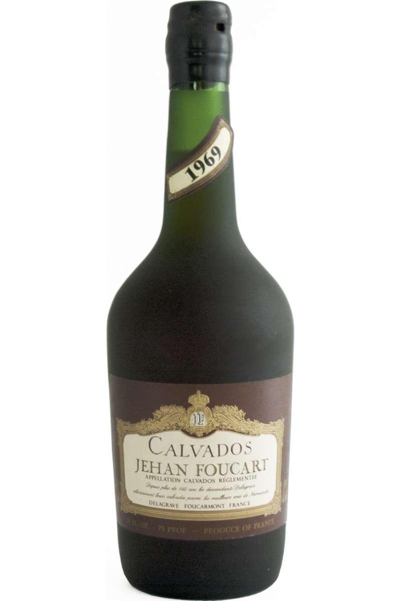 Calvados, Vintage, Jehan Foucart, Pays d'Auge, France, 1969