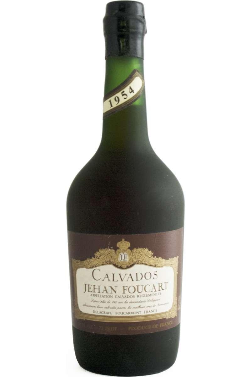 Calvados, Vintage, Jehan Foucart, Pays d'Auge, France, 1954
