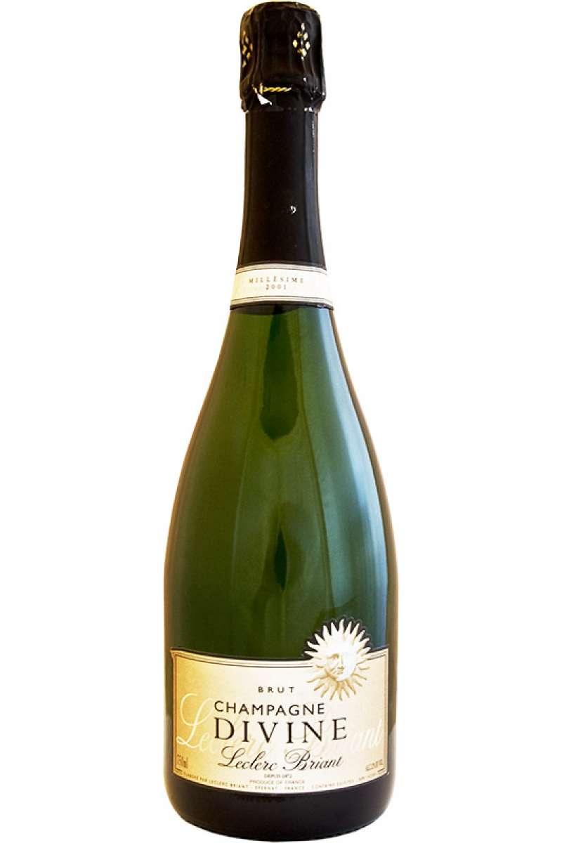 Champagne, Leclerc Briant, Cuvée Divine, Vintage, Epernay, France, 2001