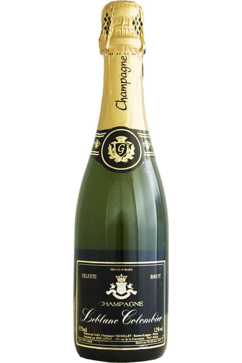 Champagne, Leblanc Colombier Cuvée, Celeste Brut, Ba'Lnot Laignes, France (Half Bottle - 37.5cl)