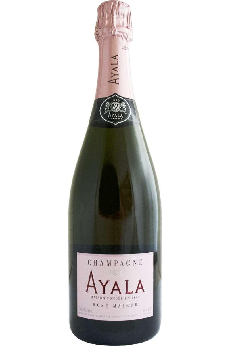 Champagne, Rosé, Ayala, Brut Majeur, Ay, France