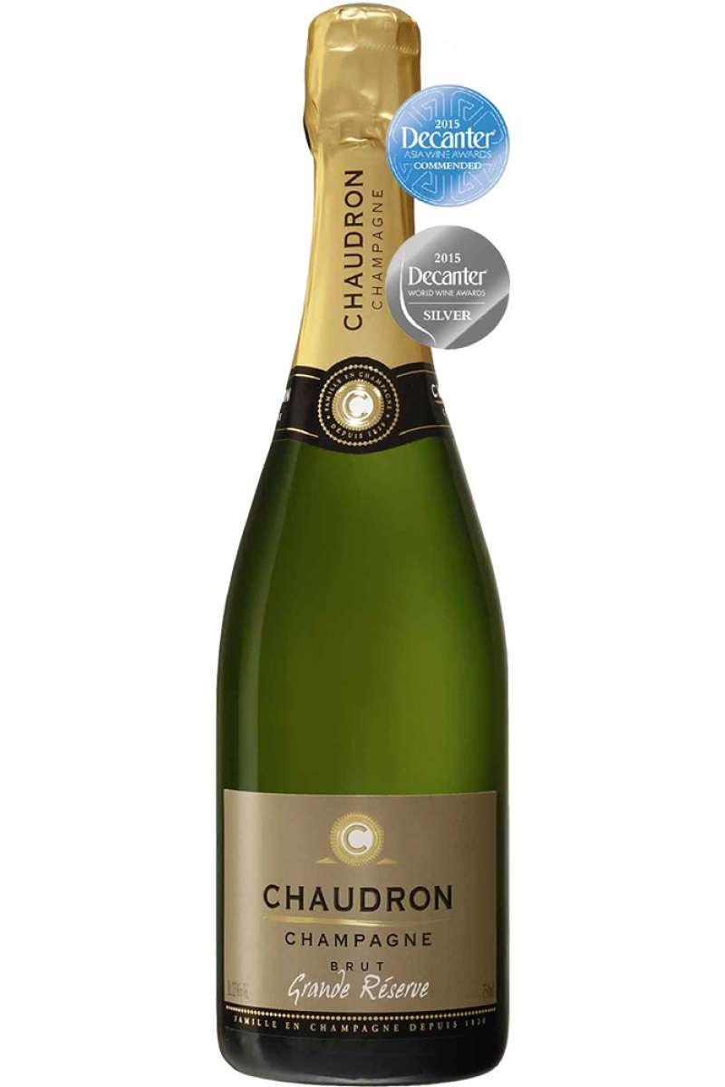 Champagne, Grande Réserve, Brut, Chaudron, France (Half)