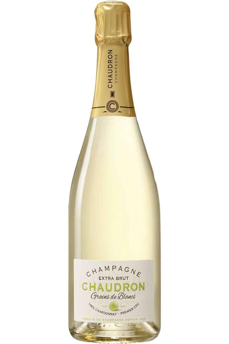 Champagne, Blanc de Blancs, 1er Cru, Extra Brut, Chaudron, France