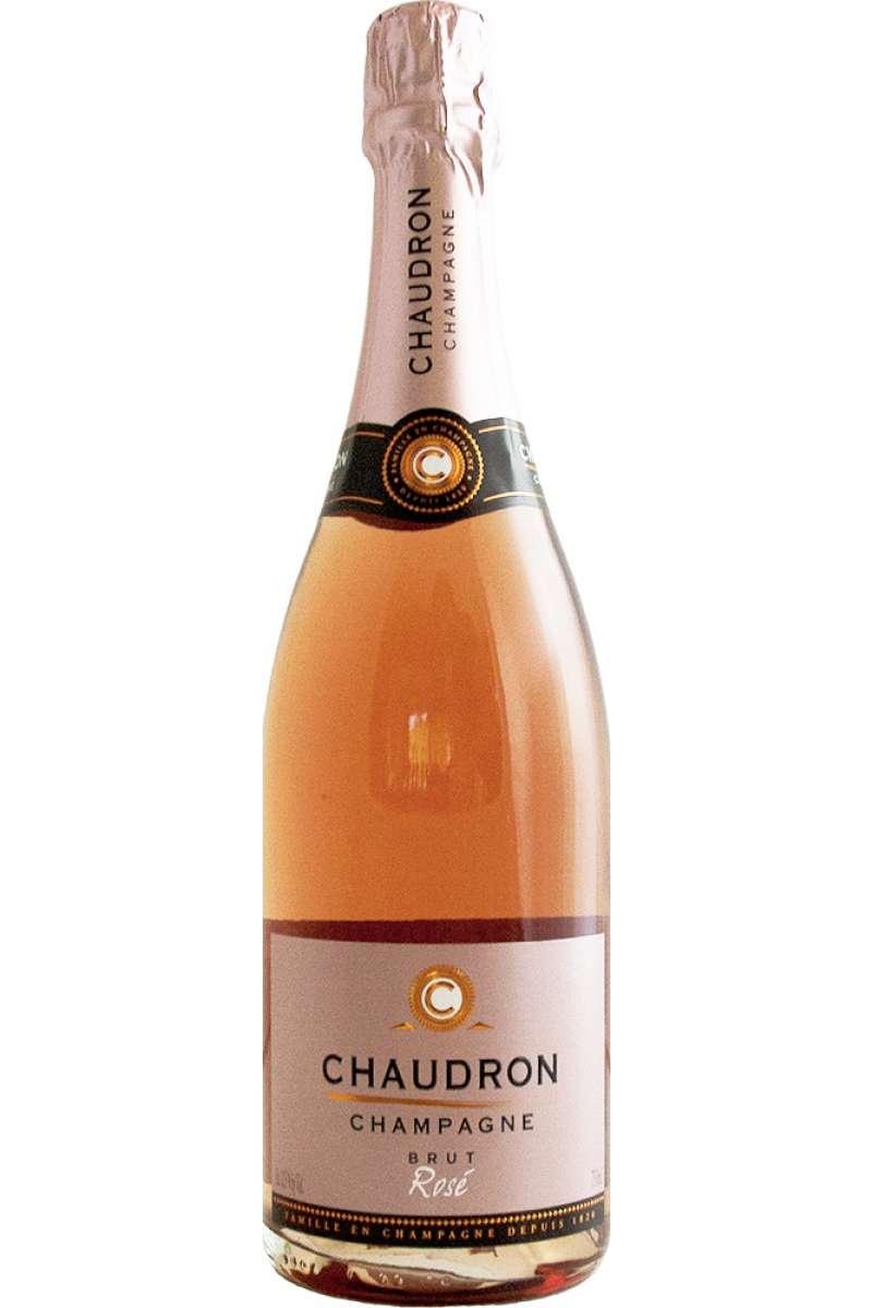 Champagne Rosé, Brut, Chaudron, France