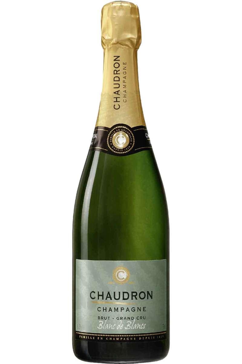 Champagne, Blanc de Blancs, Grand Cru, Brut, Chaudron, France, 2012