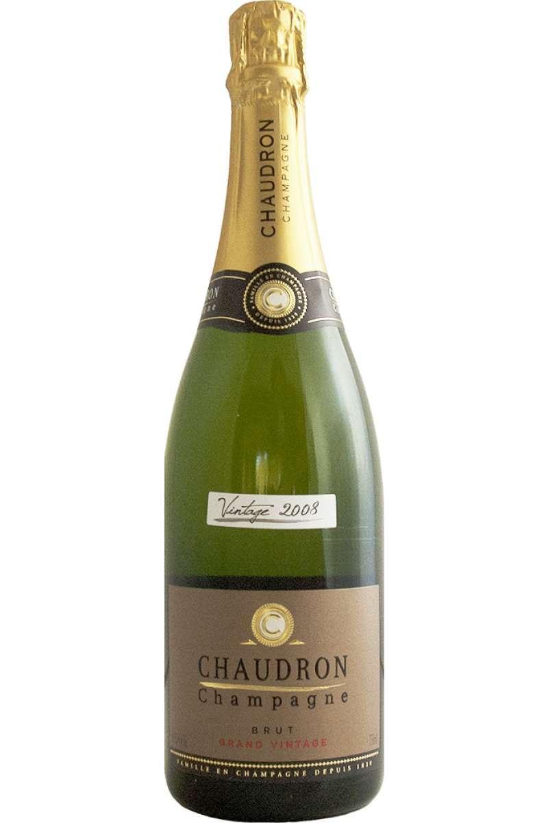 Champagne, Grand Vintage Brut, Chaudron, France, 2008