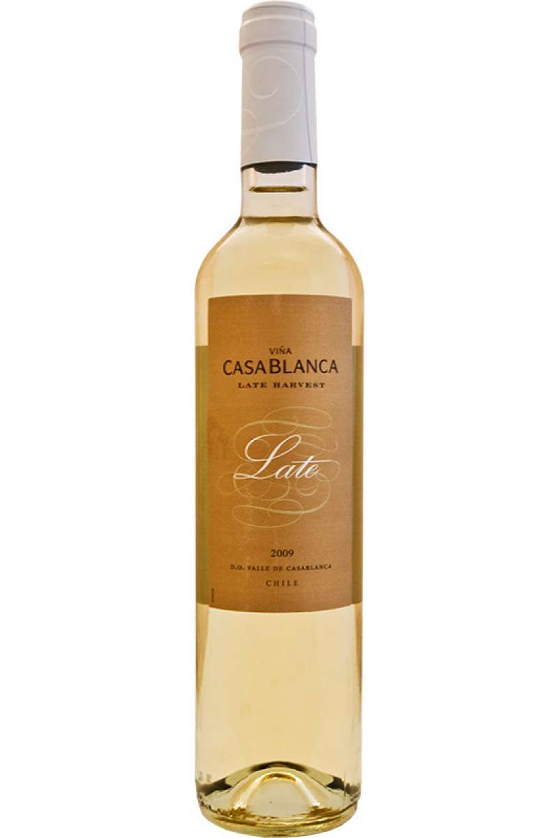 Sauvignon, Riesling, Gewurztraminer, Sweet Wine, Late Harvest, Vina Casablanca, Chile, 2010 (50cl)