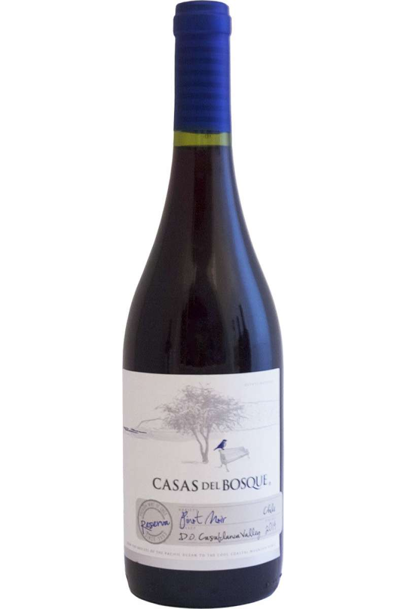 Pinot Noir Reserva, Casas Del Bosque, Casablanca Valley, Chile, 2014