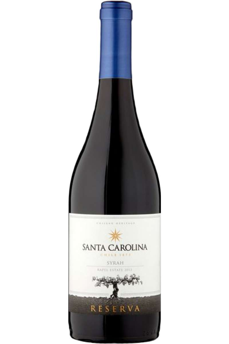 Syrah Reserva, Santa Carolina, Maipo Valley, Chile, 2016