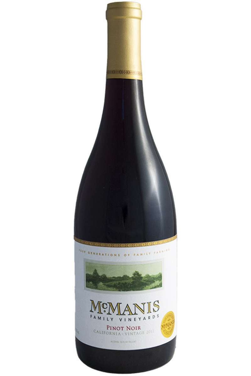 Pinot Noir, McManis Family Vineyards, California, USA, 2015