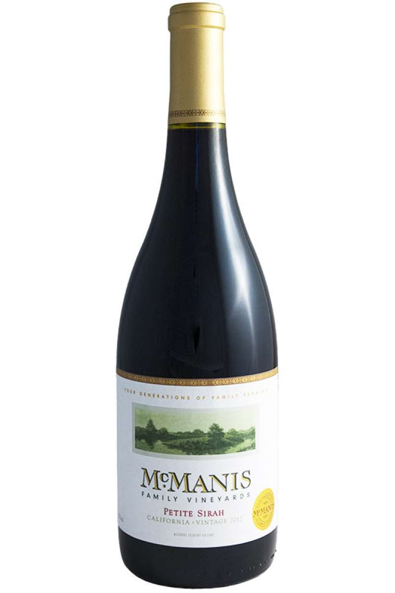 Petite Sirah, McManis Family Vineyards, California, USA, 2015