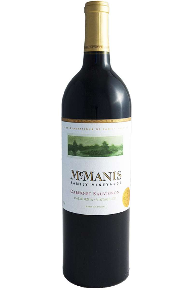 Cabernet Sauvignon, McManis Family Vineyards, California, USA, 2014