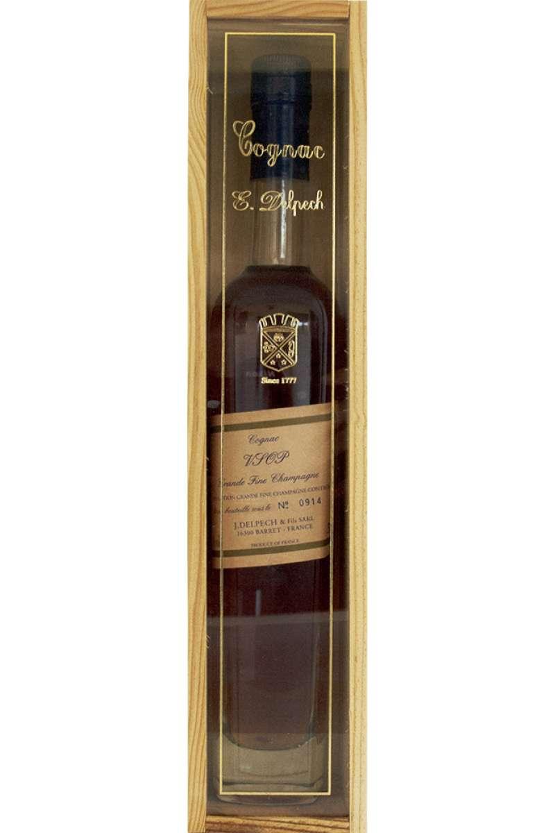 Cognac, VSOP, Grande Fine Champagne, J. Delpech & Fils, Barret, France (50cl)