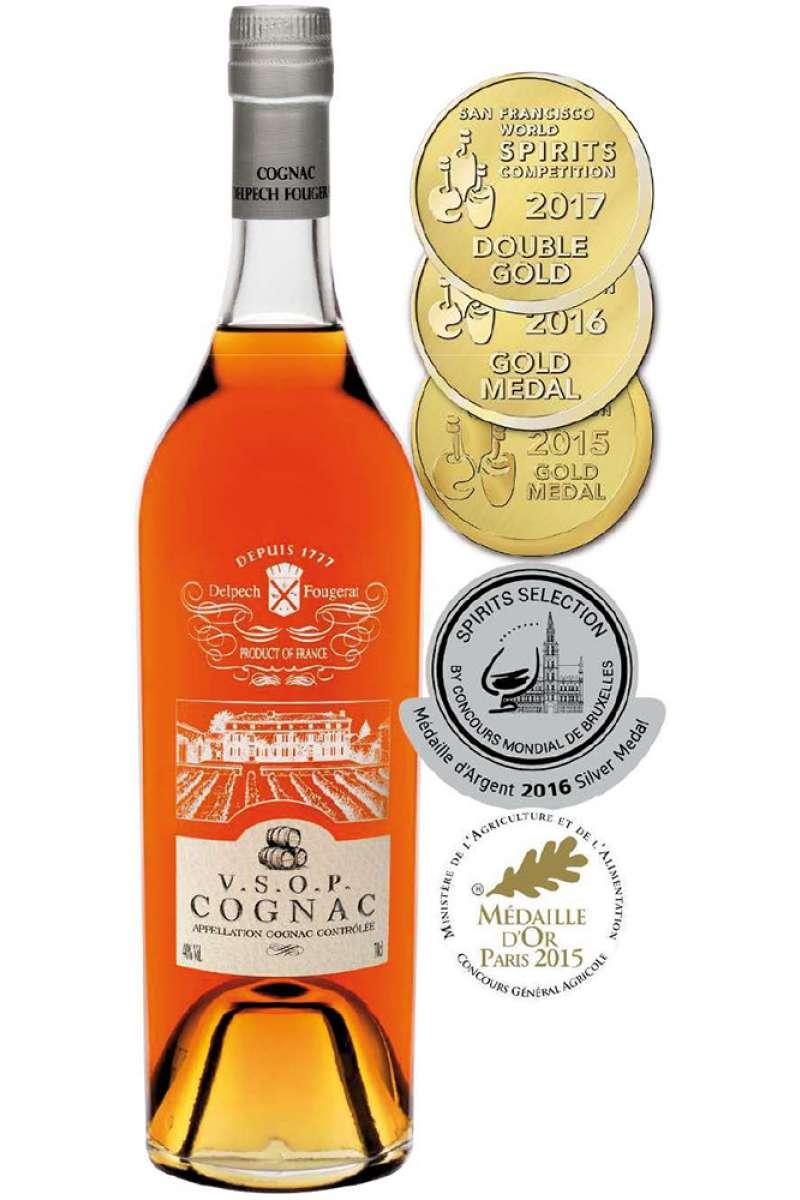 Cognac, VSOP, Delpech Fougerat, France (70cl)