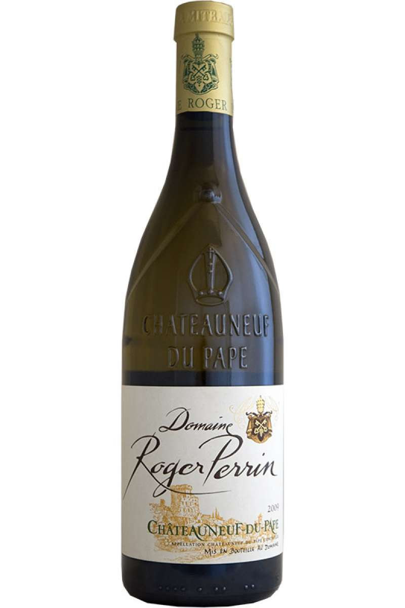 Chateauneuf-du-Pape Blanc, Domaine Roger Perrin, Rhone, France, 2010