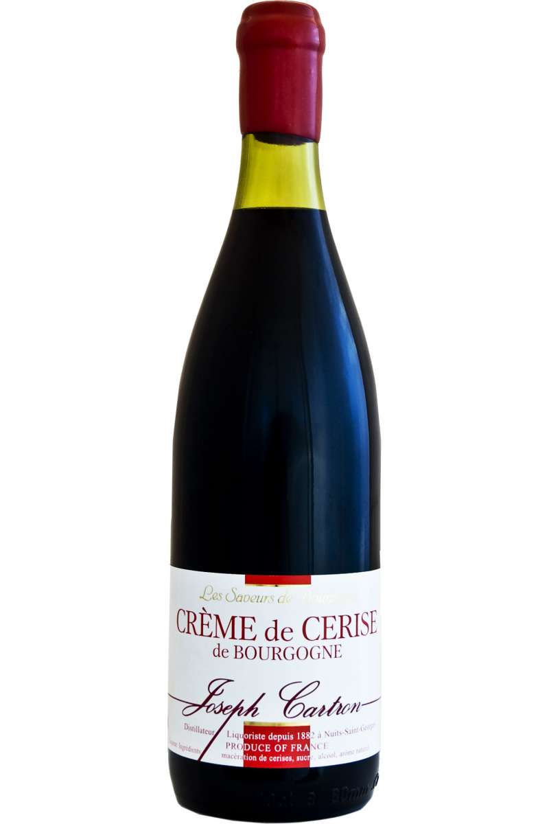 Crème de Cerise de Bourgogne, Cherry Liqueur, Joseph Cartron, Nuits-Saint-Georges, France