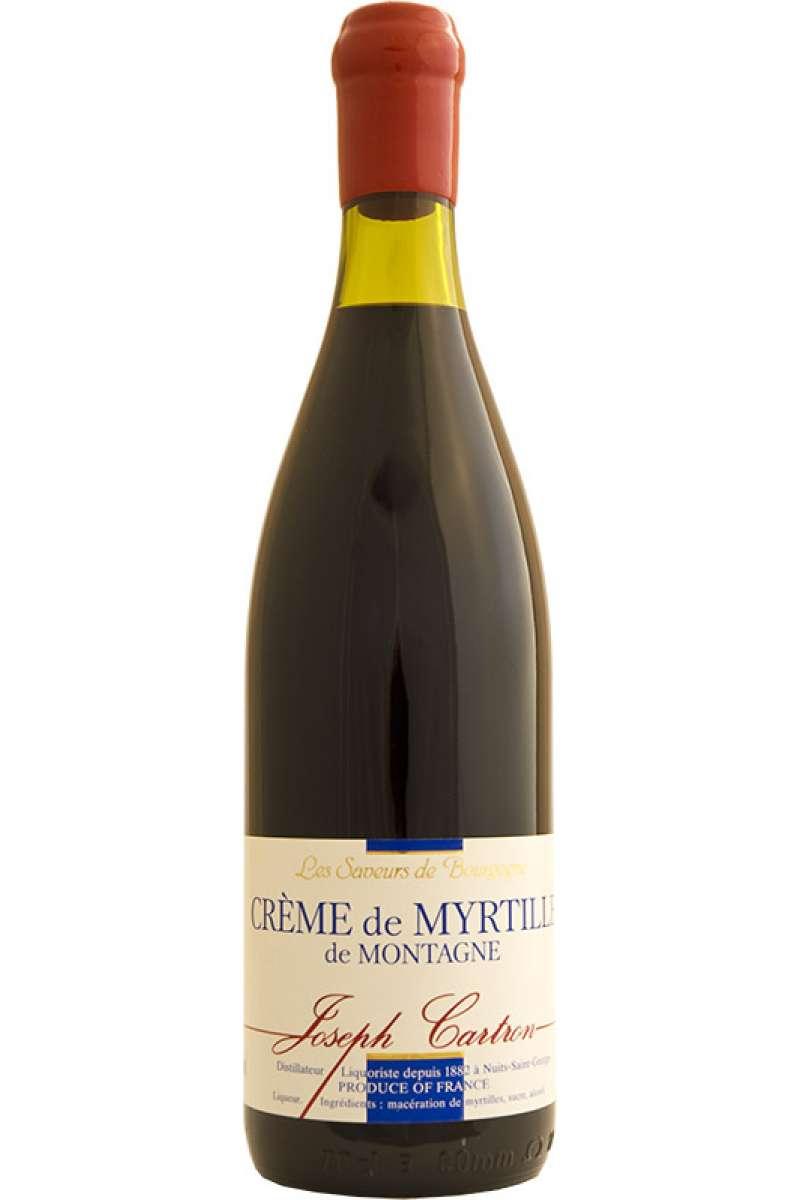 Crème de Myrtille de Montagne, Blueberry Liqueur, Joseph Cartron, Nuits-Saint-Georges, France