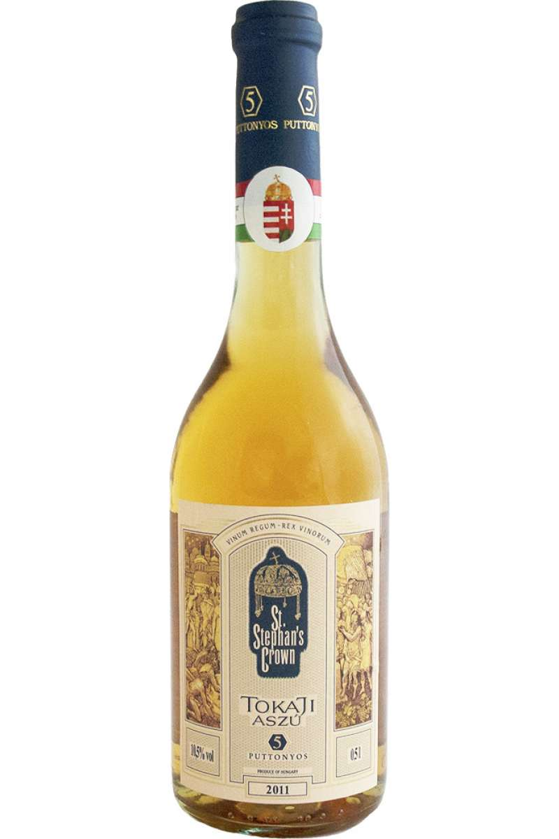 Tokaji Aszú 5 Puttonyos, St. Stephan's Crown, Hungary, 2011 (50cl)