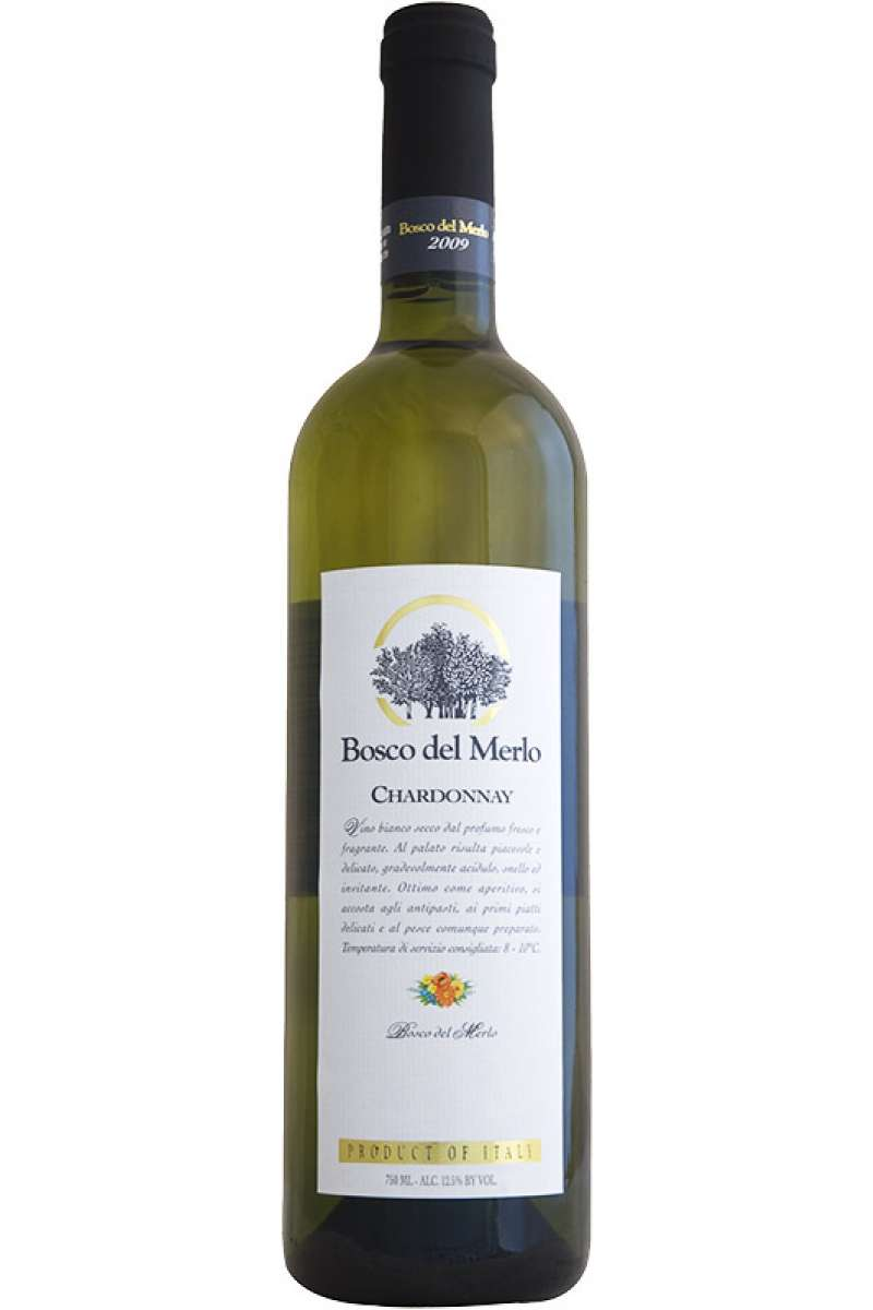 Chardonnay Cru, Bosco del Merlo, Lison-Pramaggiore DOC, Veneto, Italy, 2015