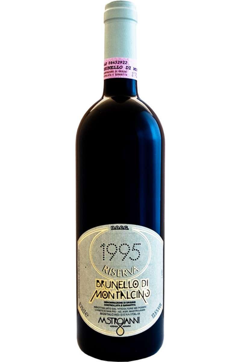 Brunello di Montalcino, Riserva, DOCG Azienda Mastrojanni, Montalcino, Siena, Tuscany, Italy 1995