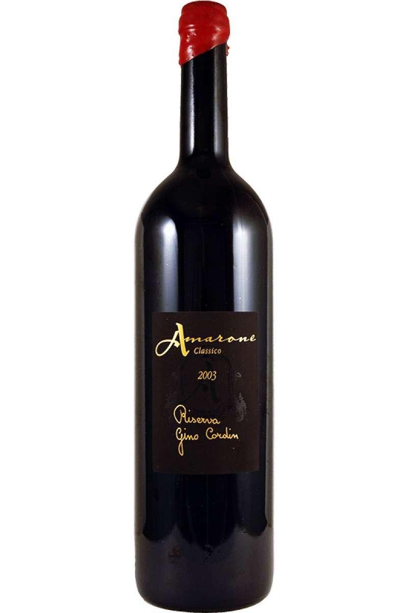 Amarone Classico Riserva, DOC, Gino Cordin, Pedemonte, Veneto, Italy, 2003 (Magnum - 150cl)