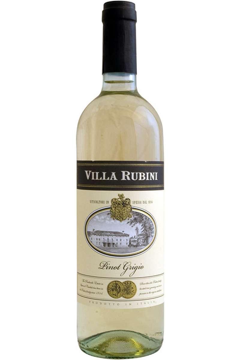 Pinot Grigio, Medaglia, Villa Rubini, Friuli-Venezia Giulia, Italy, 2018 (Vegan)