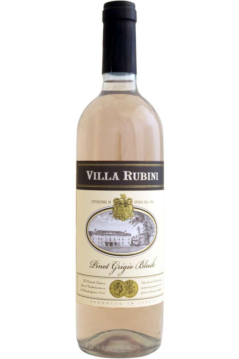 Pinot Grigio LIGHT Blush, Medaglia, Villa Rubini, Friuli-Venezia Giulia, Italy, 2016 (Vegan)