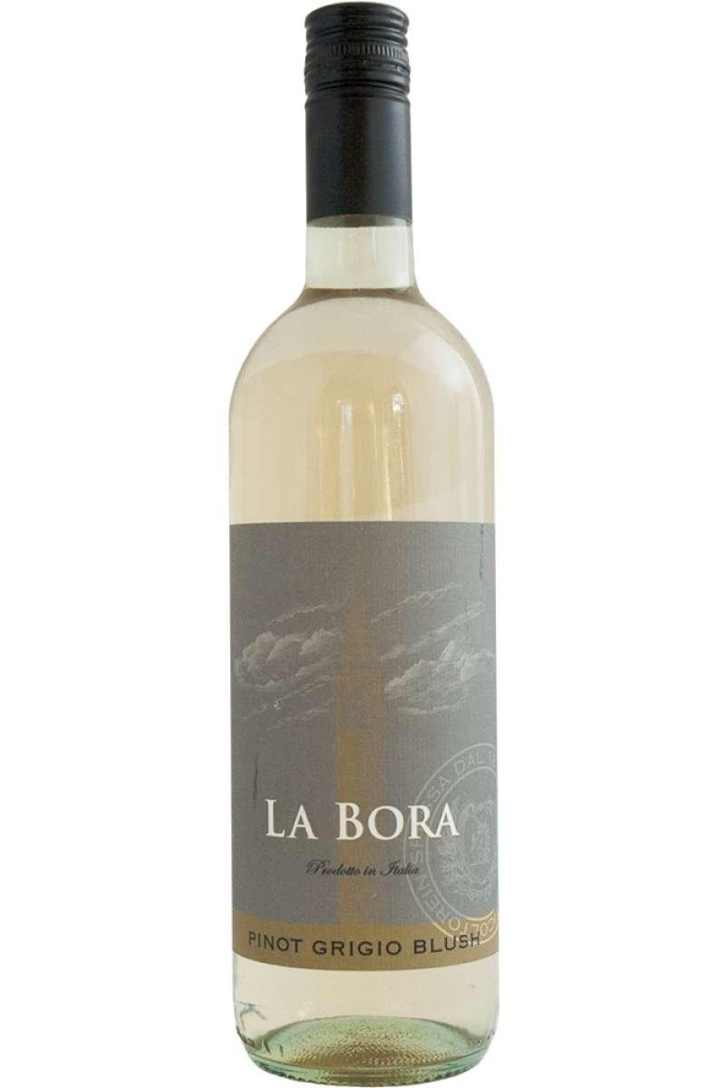 Pinot Grigio LIGHT Blush, La Bora, Friuli-Venezia Giulia, Italy, 2016 (Vegan)