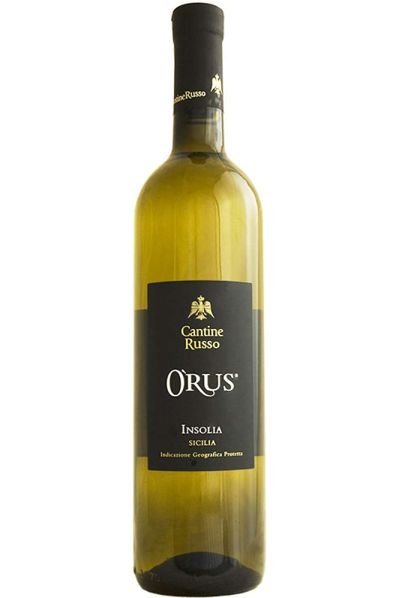 Insolia, Orus, Classic Collection, Cantine Russo,  Sicilia, Italy, 2015