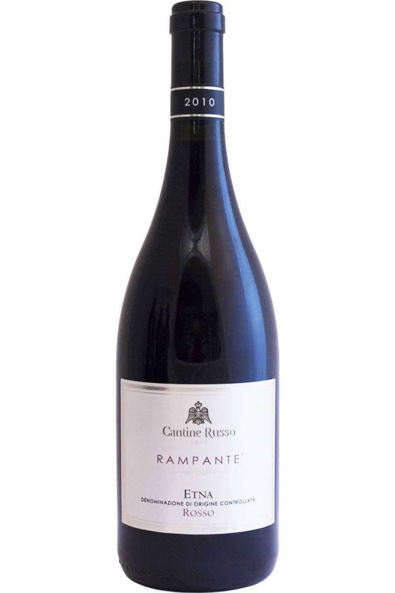Etna, Rampante Collection, DOP, Cantine Russo, Volcanic Wine, Sicilia, Italy, 2010