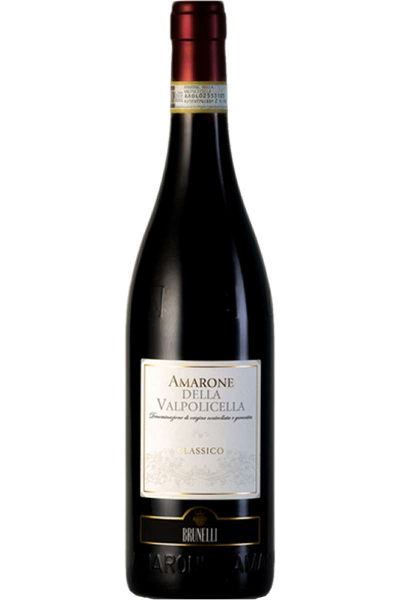 Amarone della Valpolicella DOCG, Classico, Brunelli, Verona, Italy, 2016