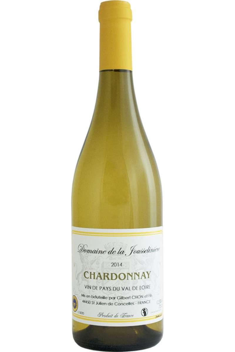 Chardonnay, Domaine de la Jousselinière, Gilbert Chon, Vin de Pays du Val de Loire IGP, Loire, France, 2017