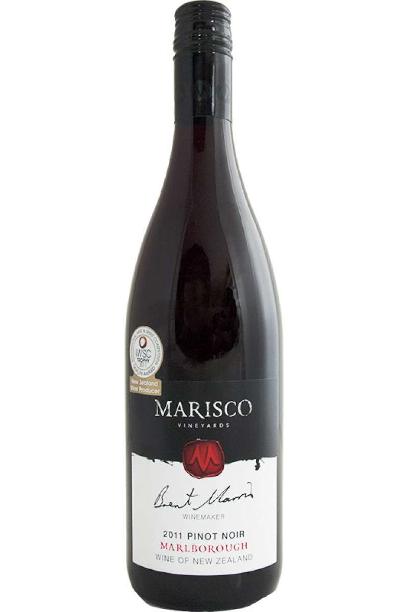 Pinot Noir, Marisco, Marlborough, New Zealand, 2011