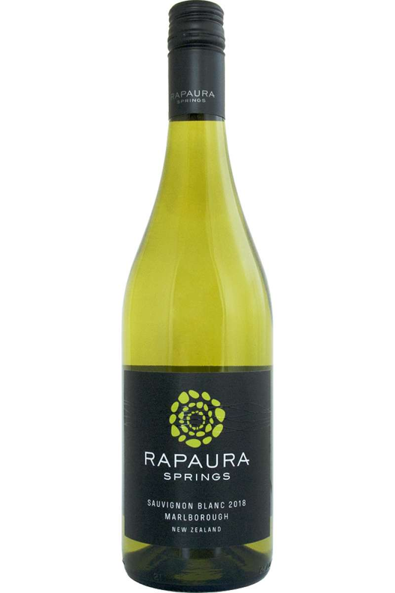 Sauvignon Blanc, Rapaura Springs, Marlborough, New Zealand, 2018