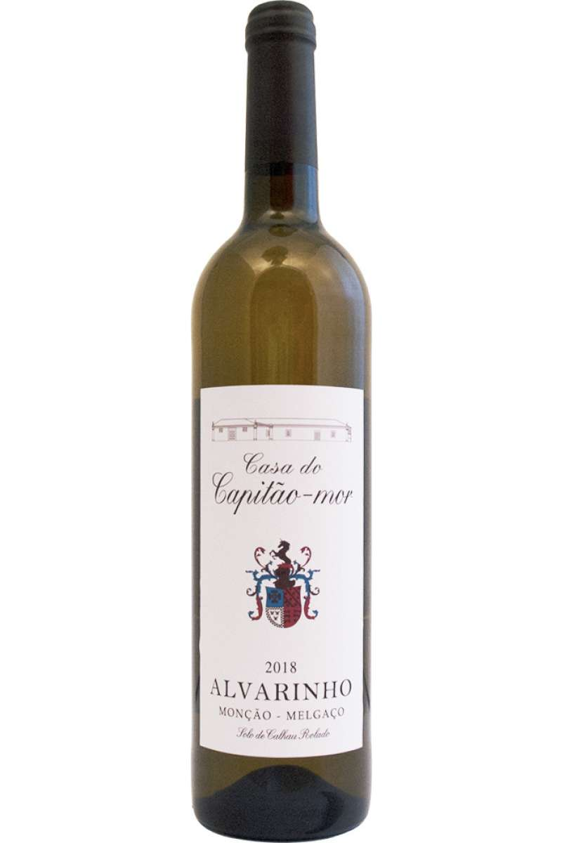 Vinho Verde DOC, Alvarinho, Casa do Capitao-Mor, Monção & Melgaço, Portugal, 2018