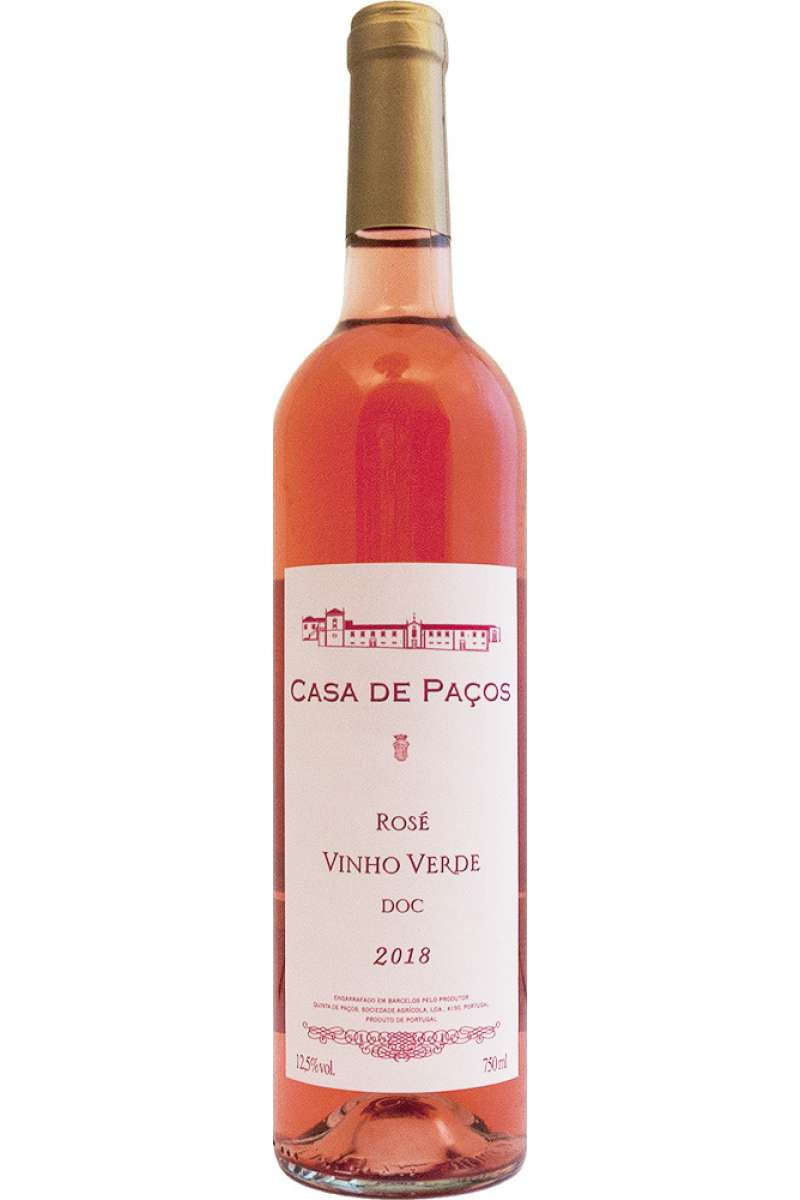 Vinho Verde Rosé, DOC, Casa de Paços, Portugal, 2018