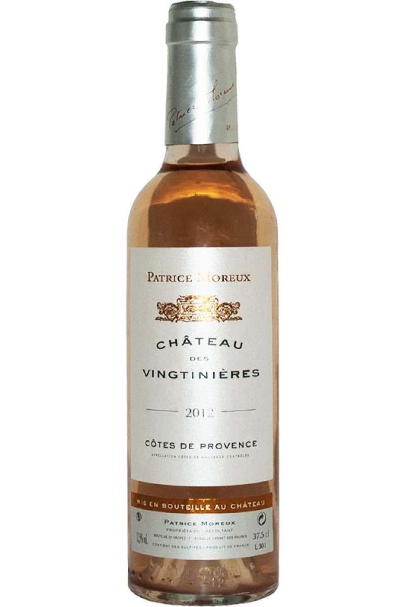 Cotes de Provence Rosé, Château des Vingtinieres, Patrice Moreux, France 2012 (Half Bottle - 37.5cl)