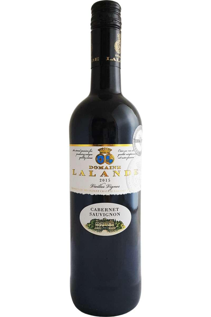 Cabernet Sauvignon, Domaine Lalande, Vin d'Oc, Vieilles Vignes, France, 2018