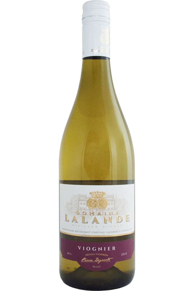 Viognier, Domaine Lalande, Vin d'Oc, Vieilles Vignes, France, 2018
