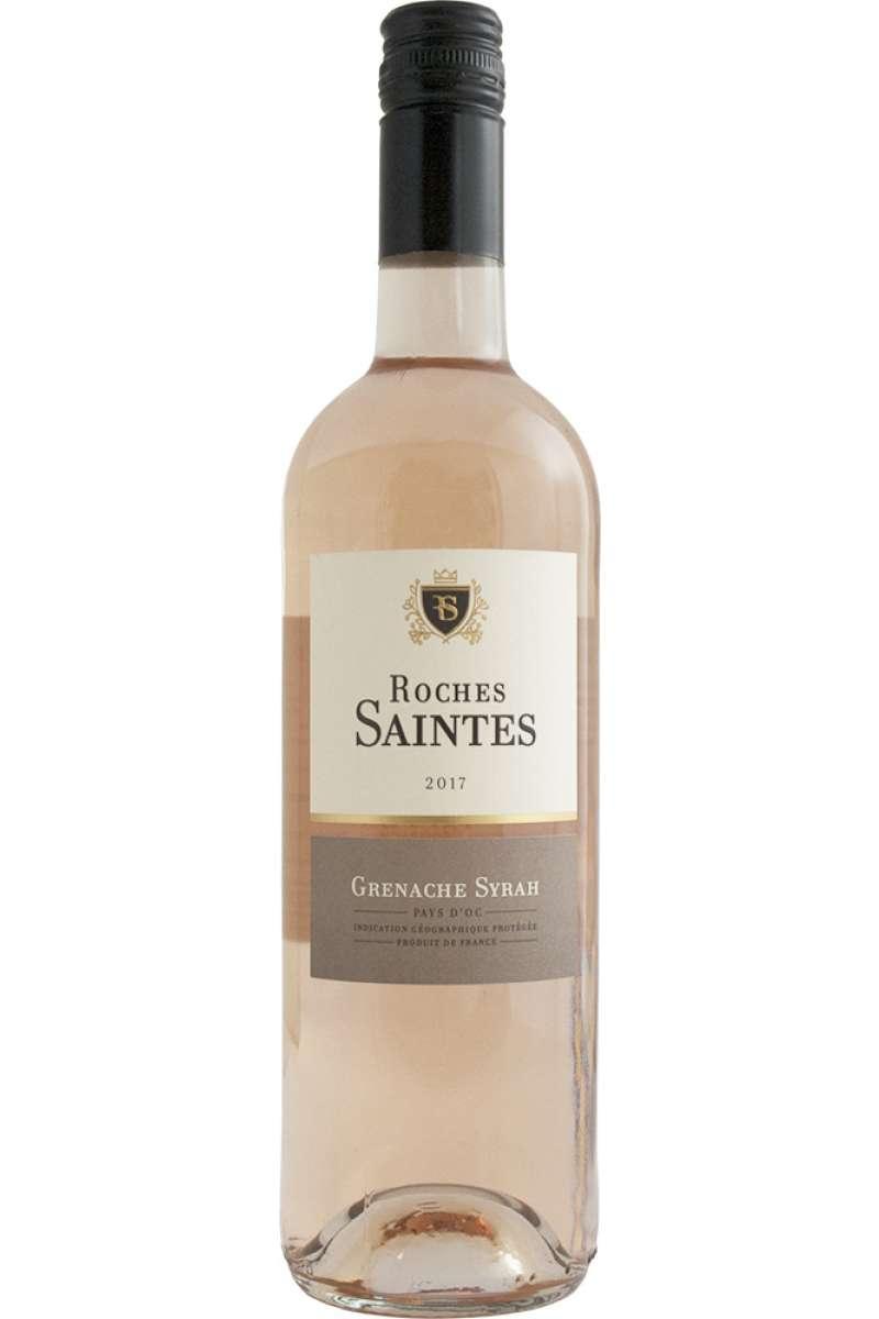 Grenache Syrah Rosé IGP, Roches Saintes, Domaine Gilles Canton, Pays d'Oc l'Hérault, France, 2017