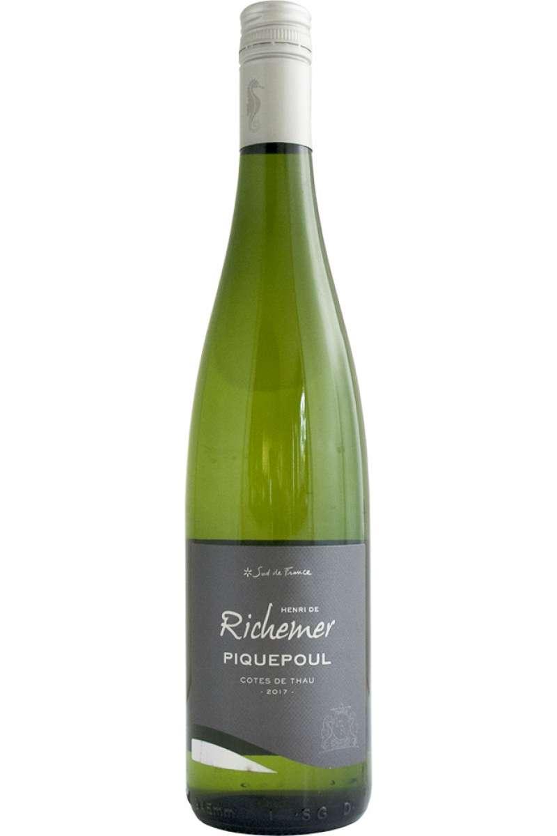 Piquepoul, Vin d'Oc, Henri de Richemer, Côtes de Thau, Languedoc-Roussillon, France, 2017