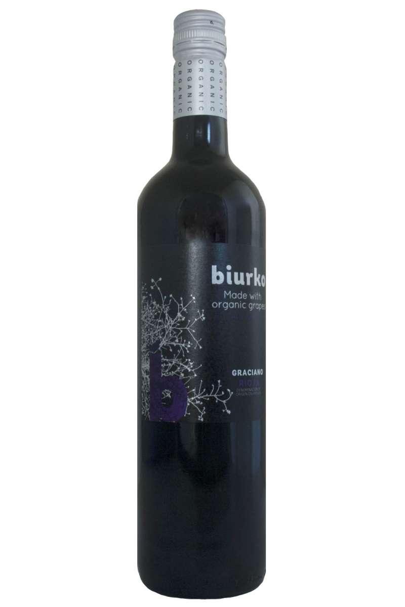 Rioja  Graciano, Biurko Gorri, Alavesa, Rioja, Spain, 2018 (Organic)