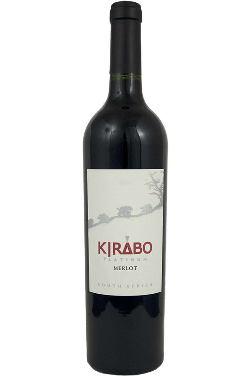 Merlot, Platinum, Kirabo, Worcester, South Africa, 2004