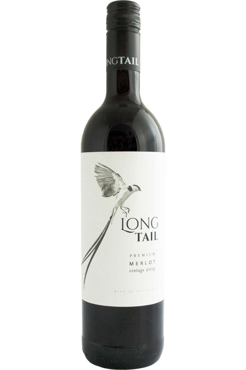 Merlot, Premium, Long Tail, Wellington, South Africa, 2015