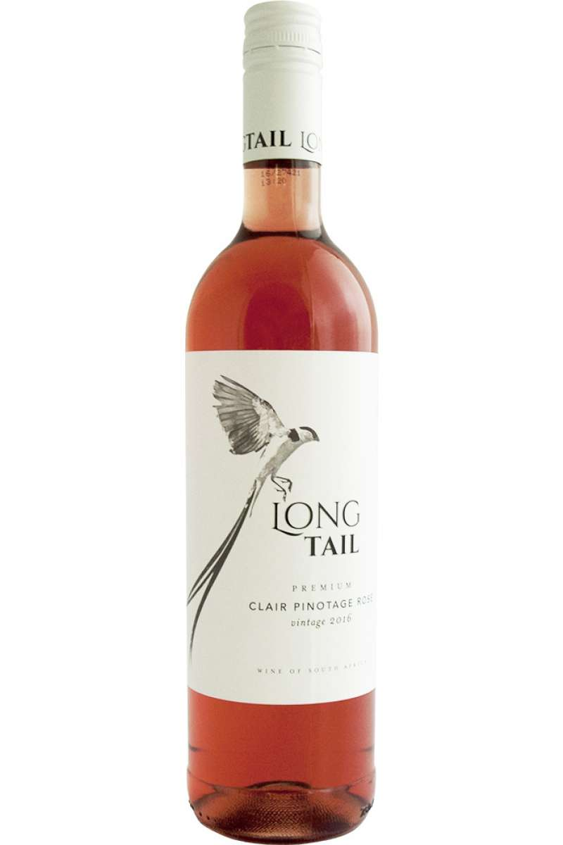Clair Pinotage Rosé, Premium, Long Tail, Wellington, South Africa, 2018